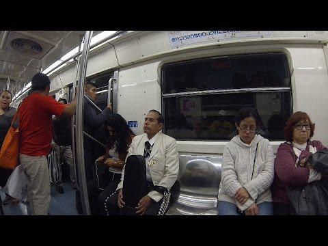 MEXICO - MEXICO CITY (PART 3) - SUBWAY (Full HD)