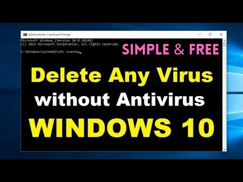 How To Remove Any Viruses From Windows 10 FREE Without Antivirus | Easiest Way
