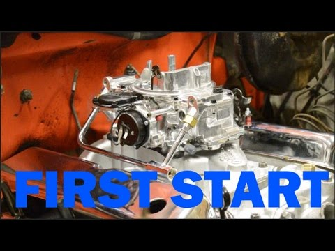 First Start and Build of the 302 -- F100 Build Episode 3
