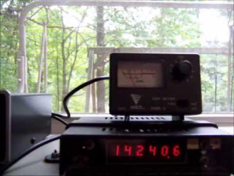Stealth Gutter Antenna for Ham Radio or Short Wave