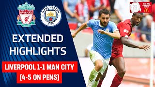 Liverpool 1-1 Man City (4-5 on pens) | Jesus & Bravo Shine in Shoot Out | FA Community Shield