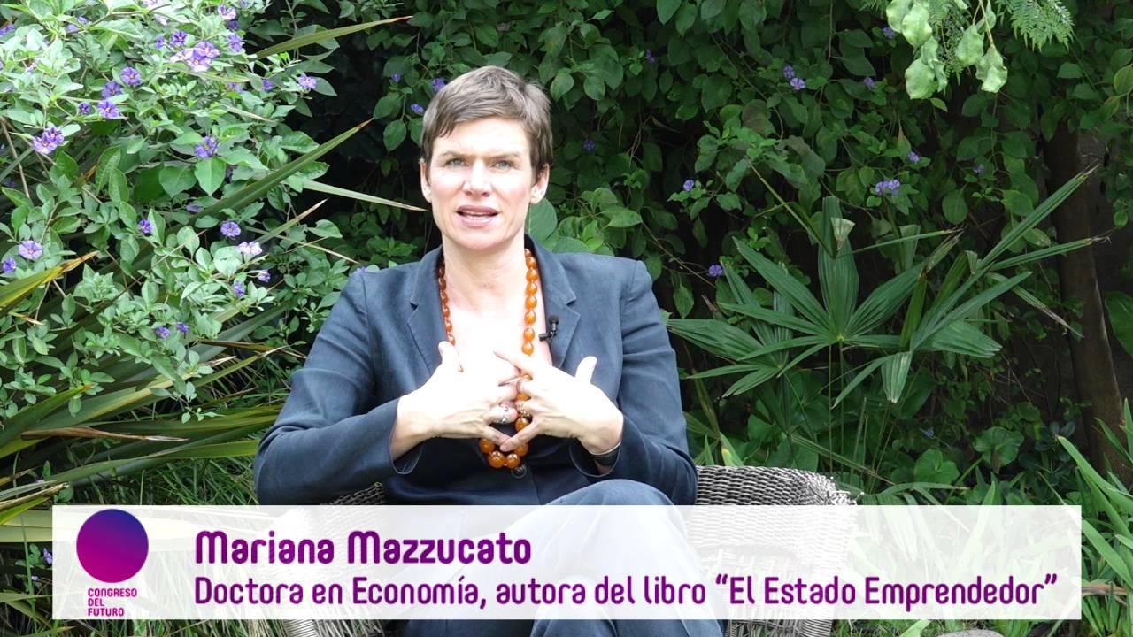 Entrevista a Mariana Mazzucato en su visita a Chile