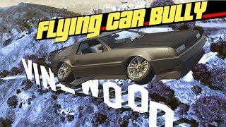 Gta 5 - Flying Car Bullying! (deluxo Trolling)