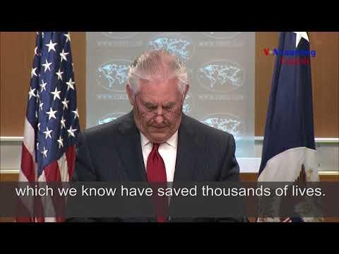 Rex Tillerson Comments After Being Dismissed