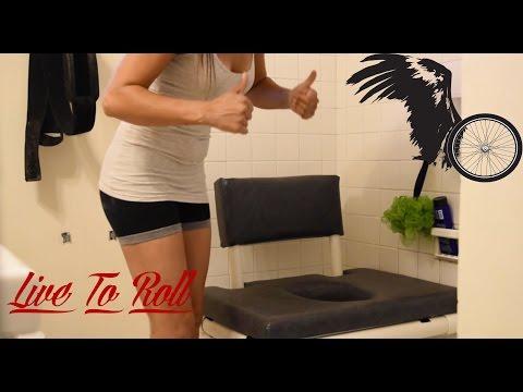 How I make my custom shower Chair/Commode