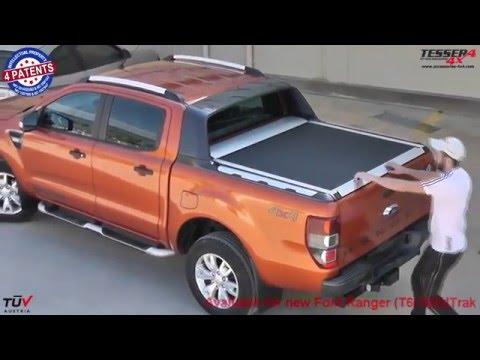 At www.accessories-4x4.com: Ford Ranger Wildtrak 2014 3.2 4x4 offroad mudding aluminum roller lid