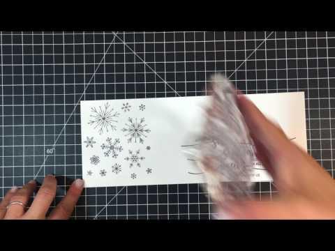 Avery Elle Snowflakes Stamp & Die Set