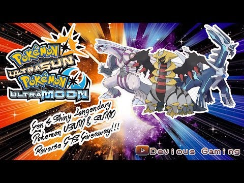 Pokemon USUM Shiny Gen 4 Legendary Dragons Live Reverse GTS Trades Pokemon!!!! Im Back!!!