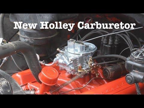5. New Holley Carburetor | 1961 Chevy Apache Restoration