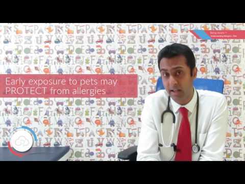 Allergy Due to Pets | Dr. Bharath Kumar Reddy
