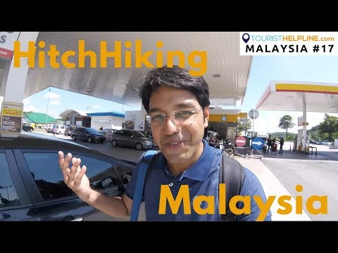 My First Hitchhike in Malaysia : To Cameron Highlands