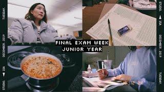finals week study vlog // pre-med neuroscience → fall 2019
