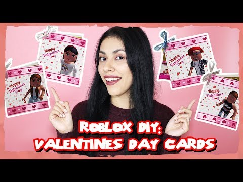 ROBLOX DIY - How to Make Roblox Valentine's Day Cards!