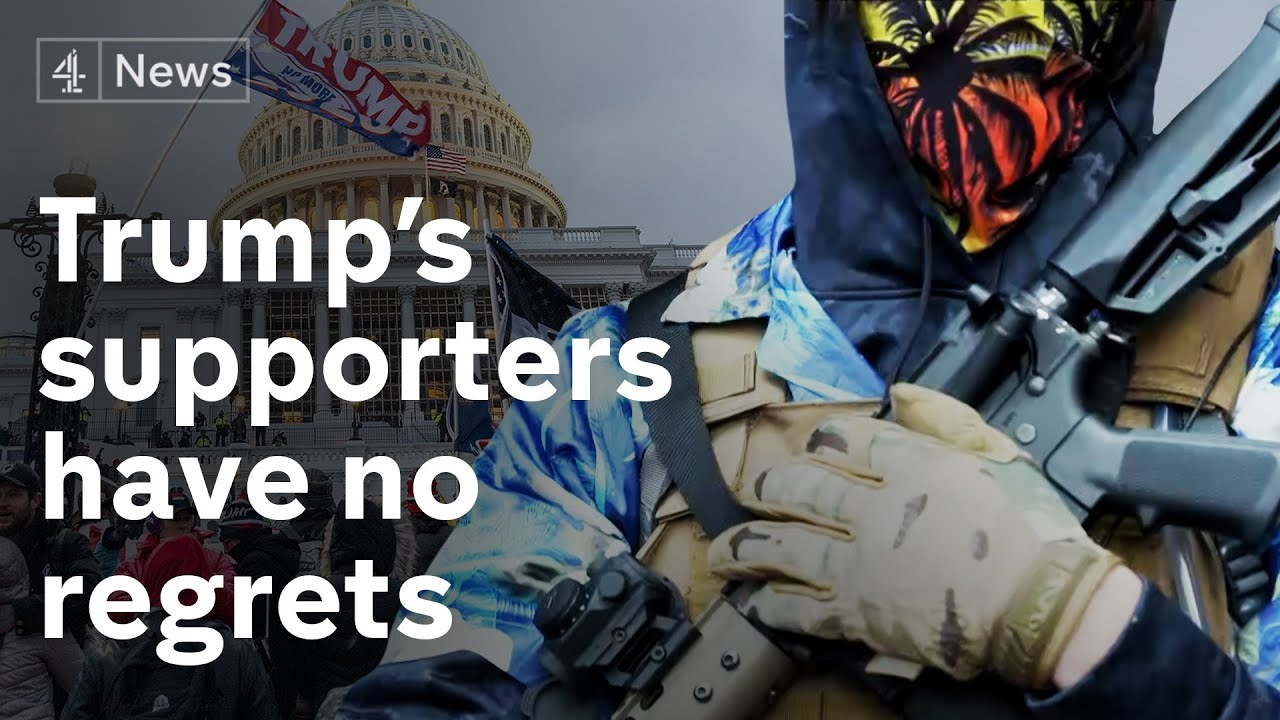 Meet the Trump supporters with no regrets about the Capitol insurrection