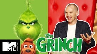 Benedict Cumberbatch On The Grinch Funniest Moments & His Excitement For Avengers 4 | MTV Movies