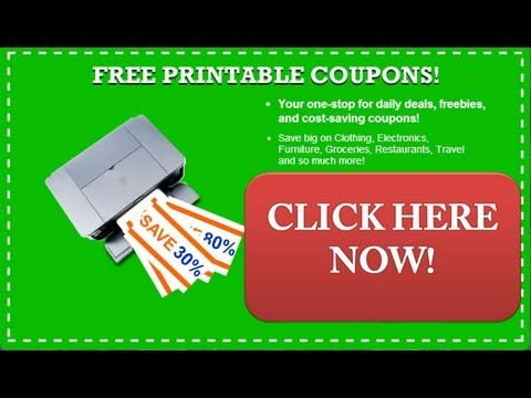 Free Printable Coupons  - Get Free Online Printable Coupons