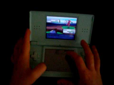 Pokemon pearl me catching deoxys(action replay)