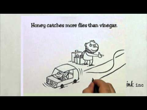 Honey Catches More Flies Than Vinegar - Ink Inc