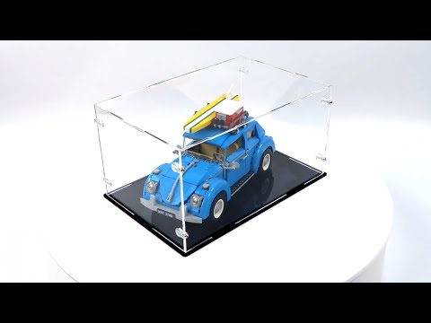 Display Case for Lego 10252 VW Beetle