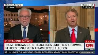 Rand Paul Clashes With CNN