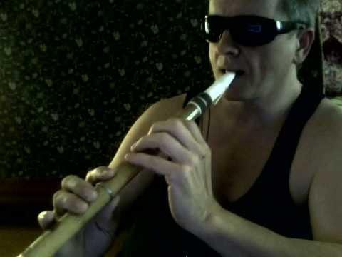 Handmade bamboo saxophone