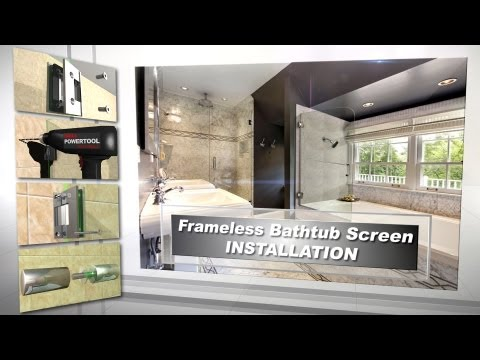 Dulles Glass & Mirror | Frameless Bathtub Screen Installation (Troy Systems)