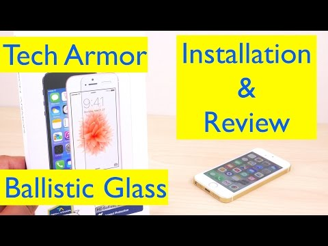 Tech Armor Ballistic Glass Screen Protector Review and Installation