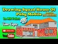Drawing Squad House Of Pubg Mobile Time Lapse Video