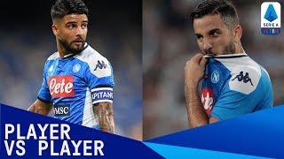 🇮🇹 Insigne vs Manolas 🇬🇷 | Player vs Player: International Edition | Serie A