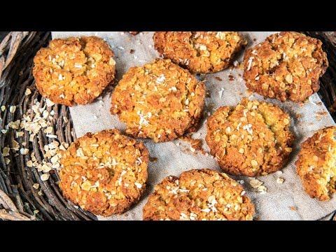 Rustic Anzac Biscuits Recipe prepared in MINUTES - Tasty Recipes by Warren Nash