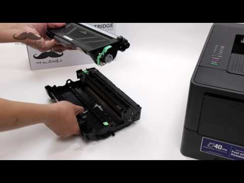 How to Install TN-750 Compatible Toner Cartridges with Printer Brother HL-5450DN