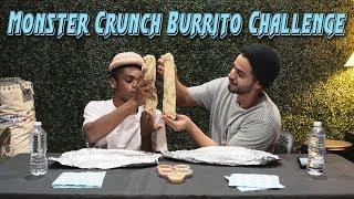 Monster Crunch Burrito Challenge | David Lopez