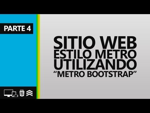 4° - Sitio Web Estilo Metro (NEW. TEC.)
