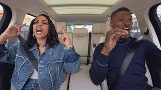 The Apple TV app — Carpool Karaoke: The Series — Jamie Foxx & Corinne Foxx — Preview