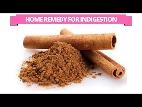 Cinnamon home treatment  for indigestion