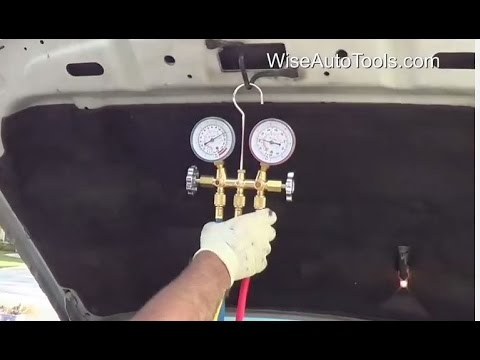 Ford AC Check - Gauge Readings