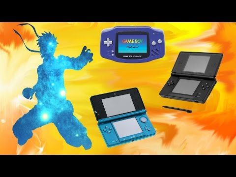 Every Single Naruto Game on all of Nintendo's Handhelds (3DS, NDS, GBA)