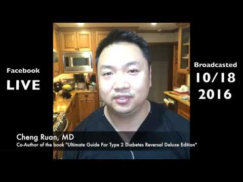 How To Cure, Reverse, or Reduce Type 2 Diabetes and Prediabetes Naturally | Dr. Cheng Ruan, M