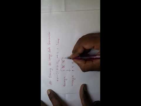 BINARY TO GRAY CODE CONVERSION : NEW TRICK VERY EASY METHOD