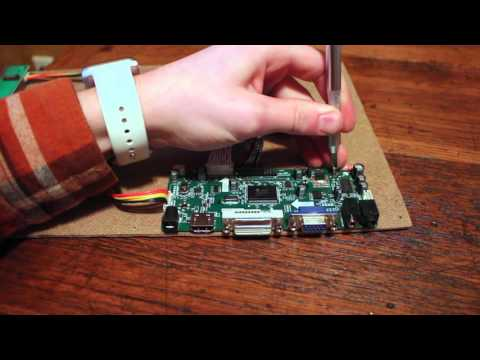 HOW TO REUSE THE LCD SCREEN IN YOUR OLD LAPTOP