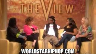 Lil Wayne On The View! Says His Grill Is Actually Braces 4 24 09   (irhymenow.com)