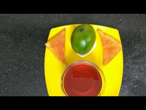 How to make Raw Mango Jelly at home in hindi || Green mango jelly without gelatine/agar agar ||