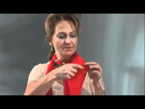 How to Wear Many Different Pendant Scarves   Video Dailymotion 2