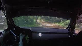 Richie Dalton  and John Allen Skoda R5 test Rally Australia 2017