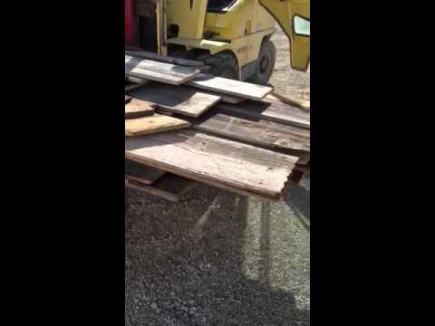 Preparing Reclaimed Lumber Video