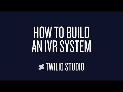 How To Build an IVR System with Twilio Studio