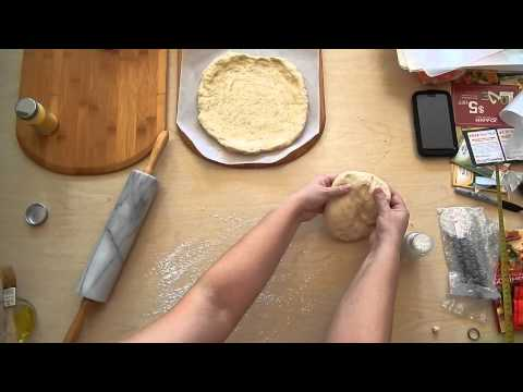 Homemade Pizza for Beginners - Prepare the Crust