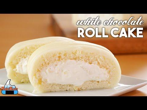 White Chocolate Roll Cake (Hokkaido Inspired Recipe)