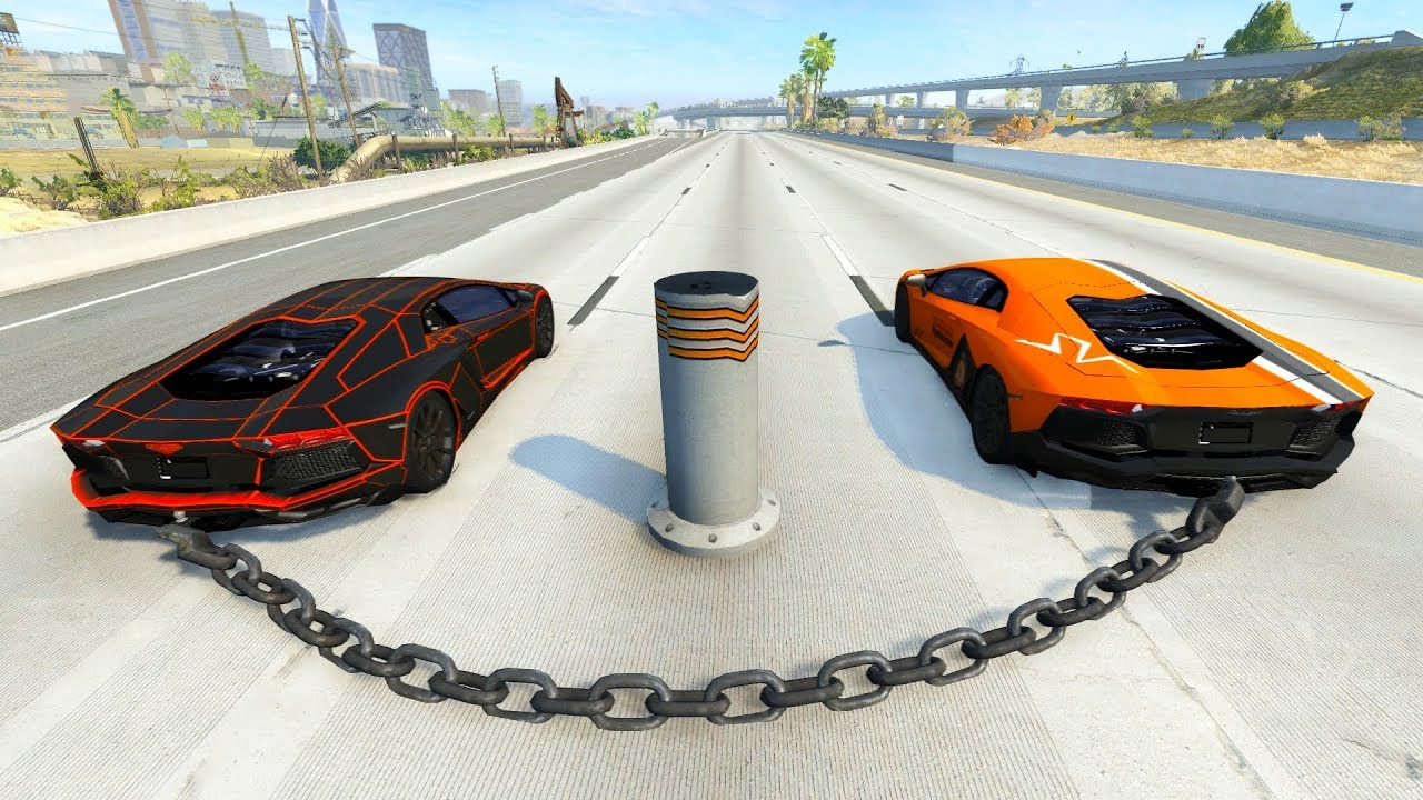 Satisfying Car Crashes Compilation Beamng Drive (Car Shredding Experiment)