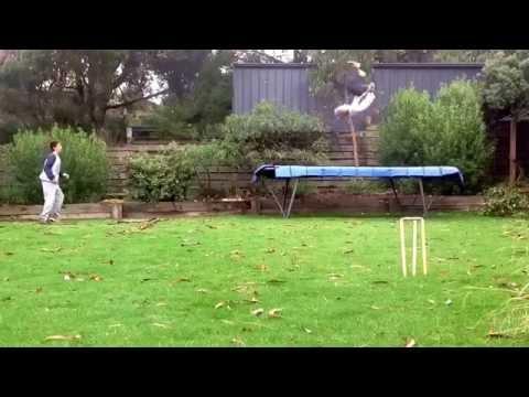 Epic Skillz With Cricket Stumps